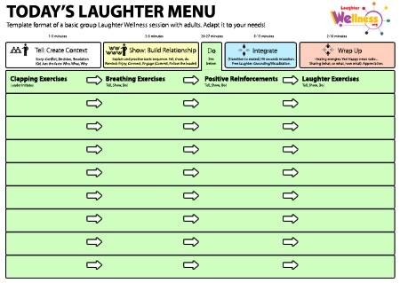 Laughter Wellness Session Template