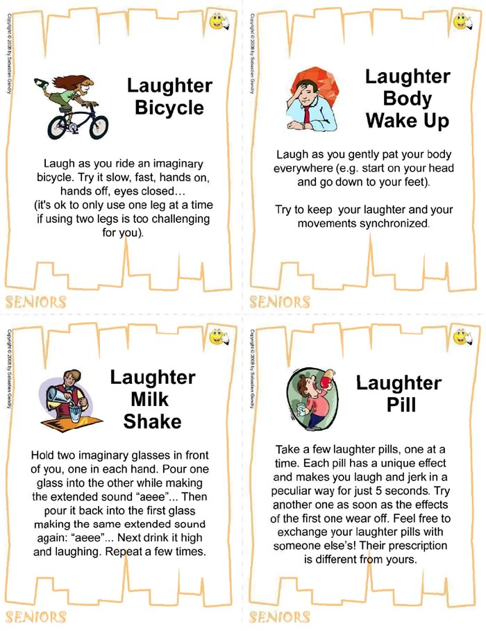 Ebook The Laughter Yoga Card Deck 48 Exercises For Children Seniors