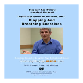 Beyond the basic Laughter Yoga breathing and clapping exercises