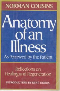 Norman Cousins Anatomy Of An Illness