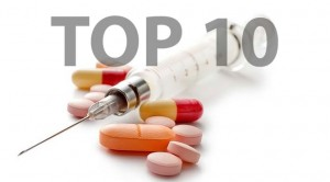 Top 10 most successful drugs in the USA