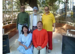 First 5 Laughter Yoga Club Members